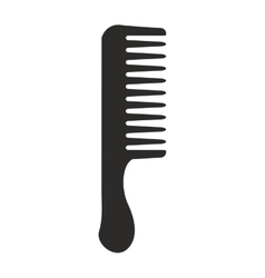 Comb icon hair salon and barber shop design vector