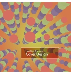 Modern Design Circle Template vector image