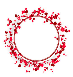valentine day cute background vector image vector image