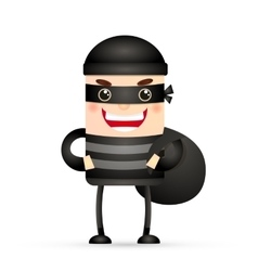 thief hacker vector image