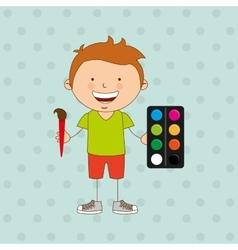 Small students design vector