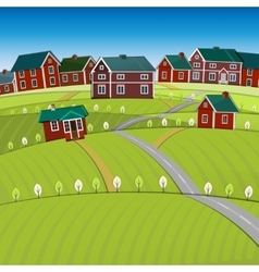 01 roads city landscape vector