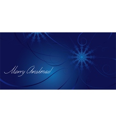 Greeting card for Christmas vector image
