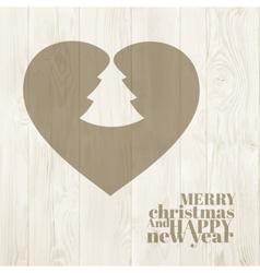 Holiday christmas eve vector image