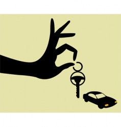 Take the keys vector