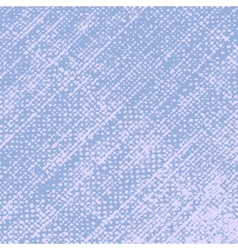 Blue Halftone Texture vector image