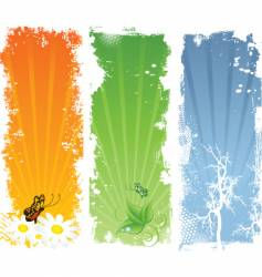nature backgrounds vector image