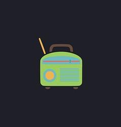 Radio computer symbol vector image vector image