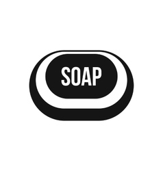 Soap icon in simple style vector image