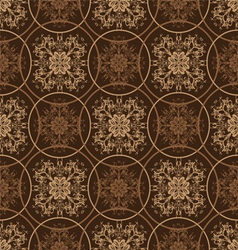 Retro styled seventies wallpaper seamless fit back vector