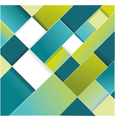 Abstract blue green cells WT vector image vector image