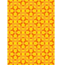 Geometric abstract colorful mosaic yellow orange vector