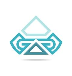 Logo letter g icon design modern vector