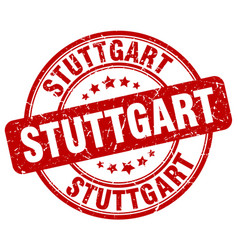 Stuttgart stamp vector