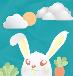Cony white vector