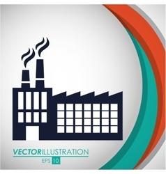 Factory or industry design vector