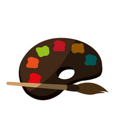 Paint icon image vector