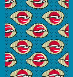 seamless pattern japan vector image vector image