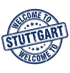 Welcome to stuttgart vector