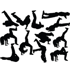 Breakdance collection 2 - vector