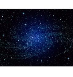 galaxy vector image vector image