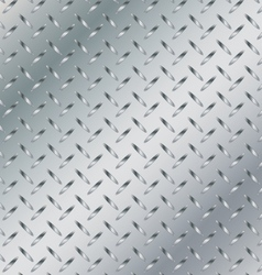 Metal background with striped texture background vector image vector image