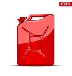 Fuel container canister jerrycan vector image