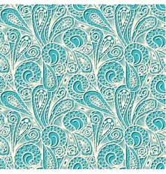 Seamless white lace pattern vector