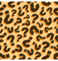 Questions seamless pattern vector