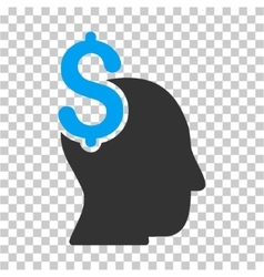Commercial intellect icon vector