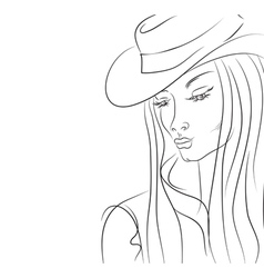 fashion sketch vector image