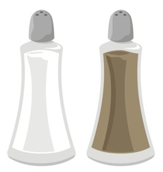 salt and pepper vector image vector image
