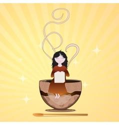 sugar fairy vector image vector image