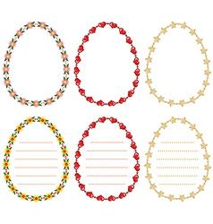 border egg vector image