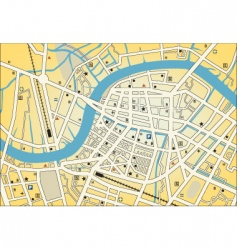 City street map vector