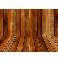 Abstract wooden background EPS8 vector image vector image