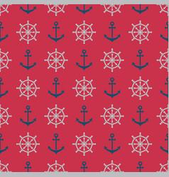 Anchorrudder pattern vector