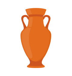 ancient pottery vase jar amphora vector image