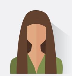Avatar woman design vector
