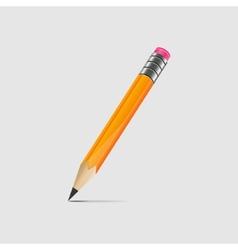 Graphite pencil vector image