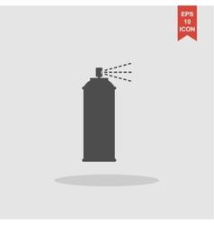 Spray icon concept for design vector image