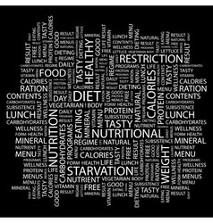 Diet vector