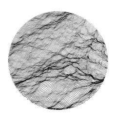 Wave grid background 3d vector