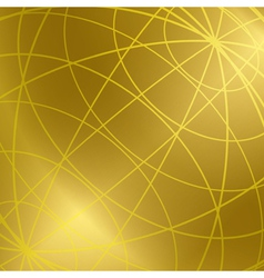 gold background with shiny meridian lines vector image vector image