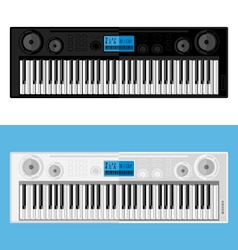 Isolated image of synthesizers vector