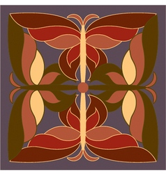 Final pattern butterfly vector