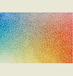 Abstract colorful flat geometric background vector