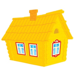 Village house vector image vector image