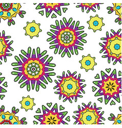 abstract seamless pattern for your design vector image vector image