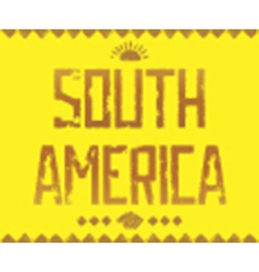 Quote grunge background south america vector